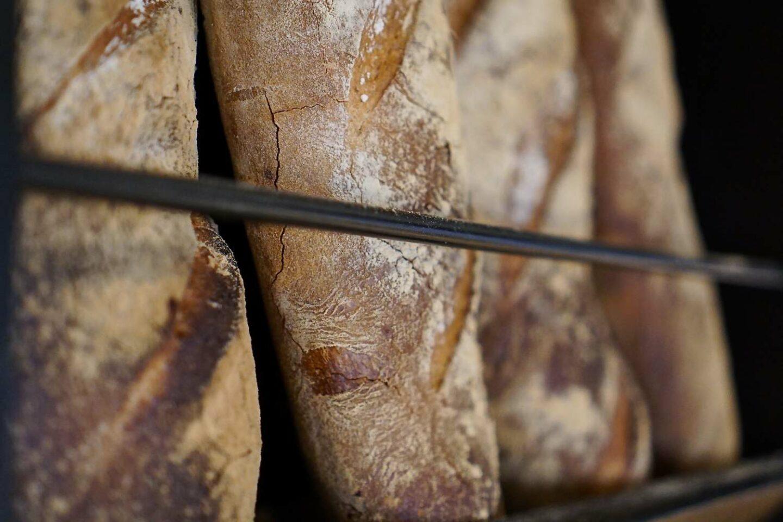 filoni di pane verticali